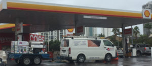 Andy's Service Coles Express/Shell Pressure Clean