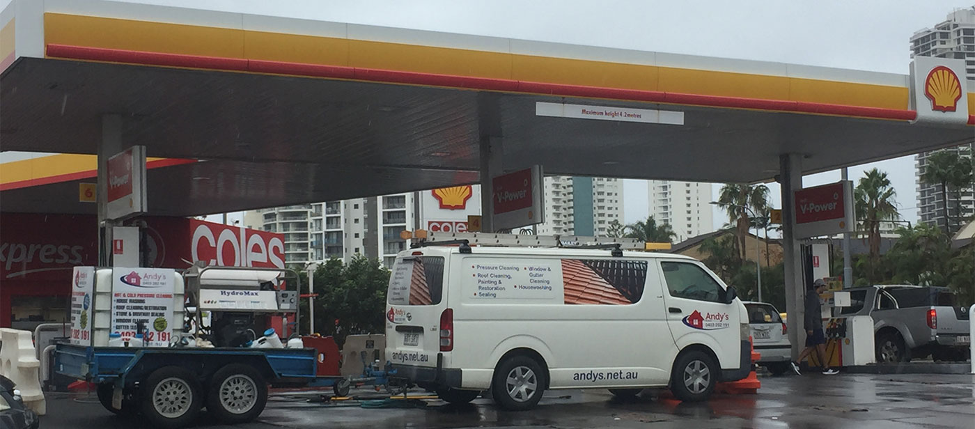 Andy's Services Takes On Shell